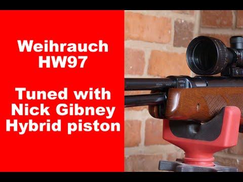 Nick Gibney Hybrid piston kit for the HW97 | Airgun Universe