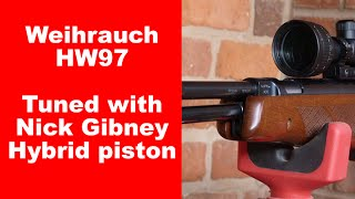 hw97 fitted with nick gibney hybrid piston