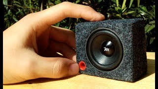 Mini Subwoofer Bass Boosted Music