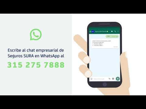 Paga tus seguros desde WhatsApp
