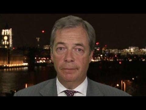 Theresa May needs to get tough: Nigel Farage