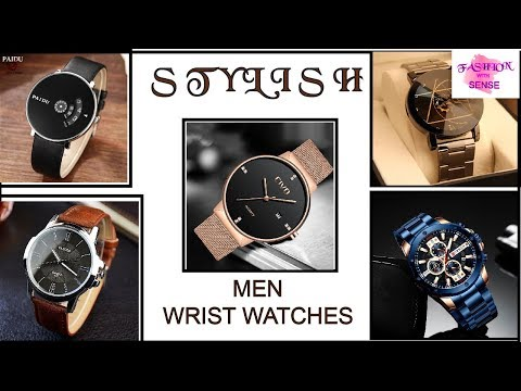 STYLISH WRIST WATCH DESIGNS FOR MEN | ROUTINE DESIGNS | FASHION WITH SENSE