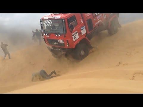 Происшествие на ралли-рейде «Золото Кагана 2016» в Астрахани