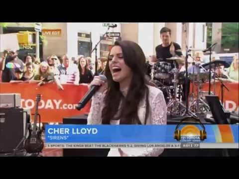 Cher Lloyd - Sirens (on Today Show) 25-05-2014