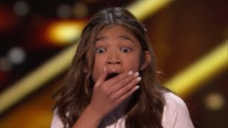 sENSATIONAL Kid Singer Gets Second GOLDEN BUZZER On AGT: The Champions!