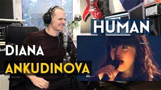 Download ROCK SINGER REACTS TO DIANA ANKUDINOVA - HUMAN Mp3 and Videos