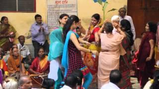 Radhastami en Radha Damodara Vrindavan 2013
