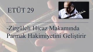Mehmet KINIK - Uzun Sap Bağlama 4 Parmak Egzersizleri (Etüt 29)