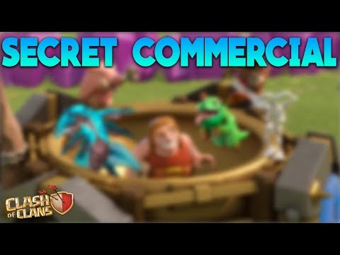 New Secret Clash of Clans Commercial