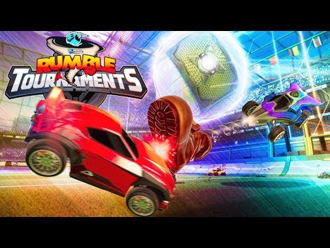 MY COMMUNITY CHALLENGED ME TO A RUMBLE TOURNAMENT - Rocket League thumbnail