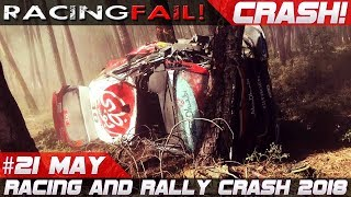 Racing and WRC Rally Crash Compilation Week 21 May incl. Rally Portugal 2018