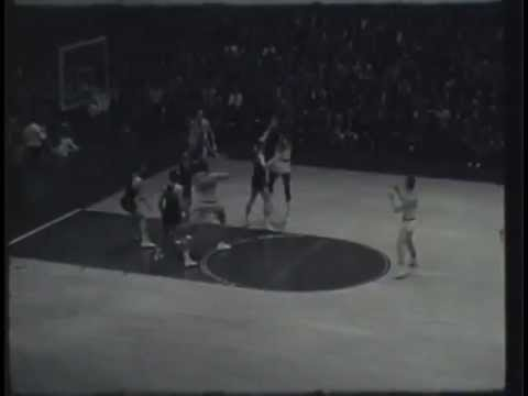 Wilt Chamberlain. Free Throw line jump shot and bank shot ...