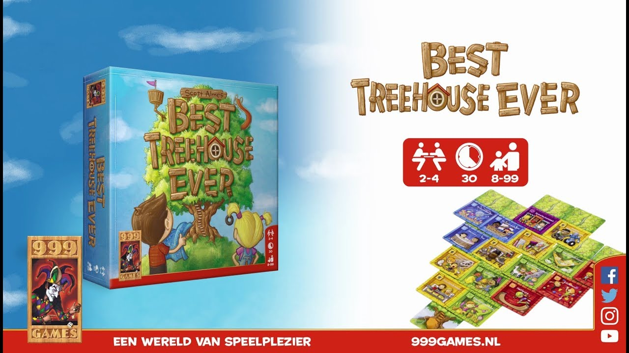 999 Games Best Treehouse Ever Trailer 999 Games