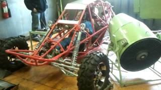 off road buggy on dyno