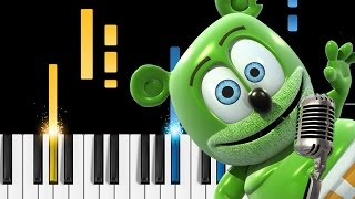 The Gummy Bear Song - EASY Piano Tutorial