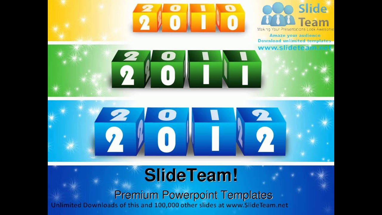 new year coming blocks symbol powerpoint templates themes and backgrounds ppt themes