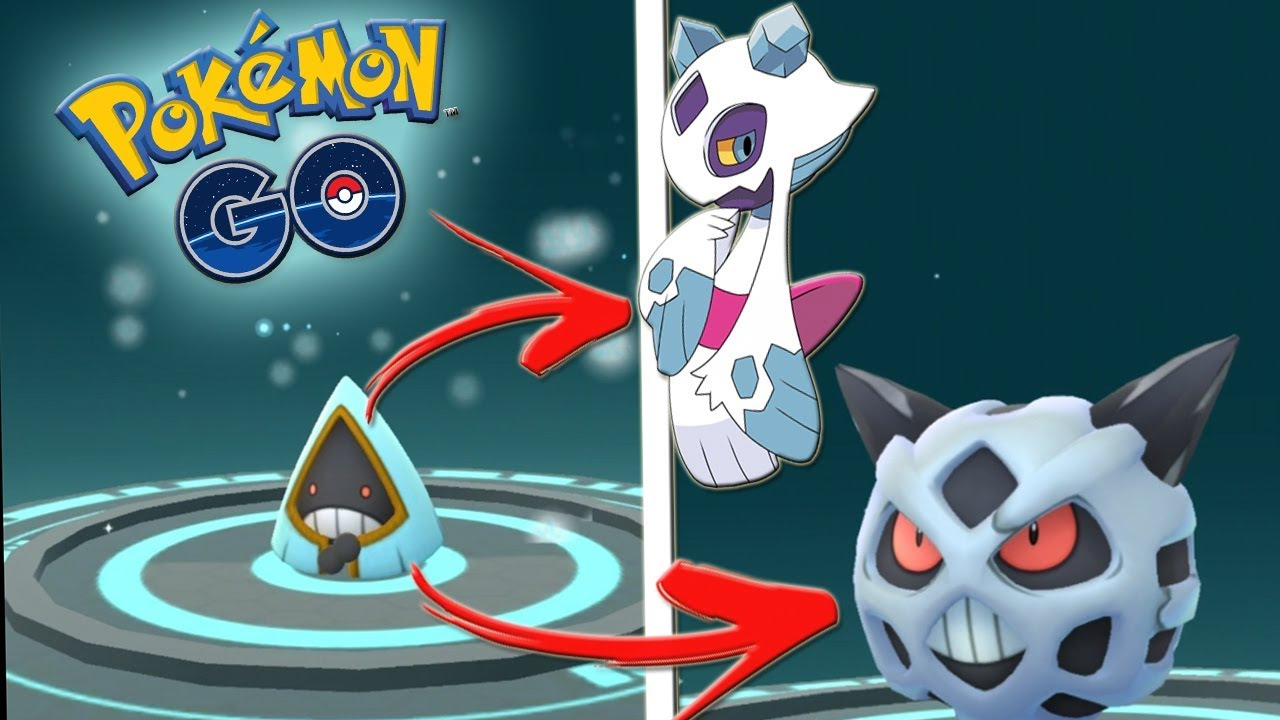 Download ¡CUIDADO FROSLASS! EVOLUCIÓN de SNORUNT SHINY a GLALIE SHINY en Pokémon GO [Keibron]