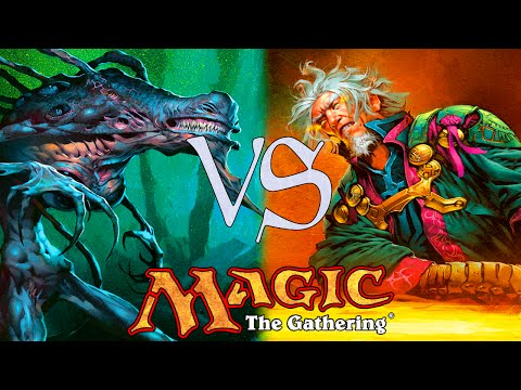 MtG Duel Deck Gameplay - Phyrexia VS The Coalition