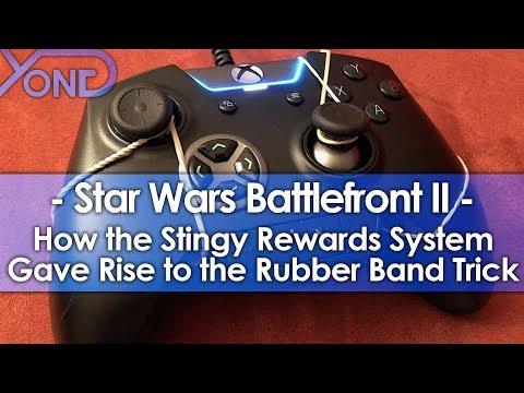 How Battlefront II's Stingy Rewards System Gave Rise to the Rubber Band Trick
