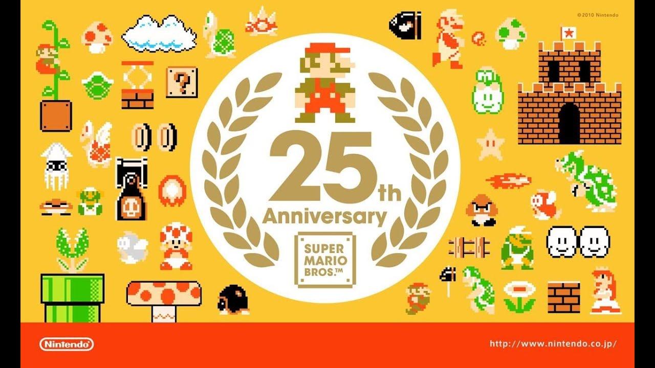 super mario 50th anniversary