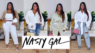 TRY OUT NASTYGAL CLOTHES #WITHME! TRY ON HAUL | POCKETSANDBOWS