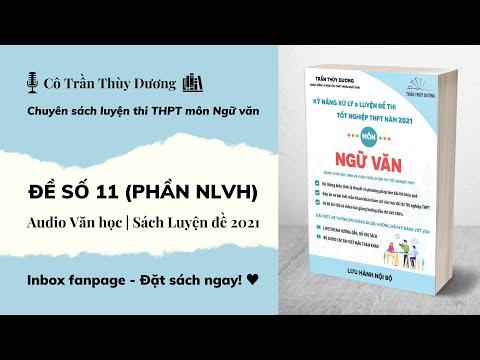ĐỀ SỐ 11 (Phần NLVH) - Audio Văn học   Sách Luyện đề 2021 (Cô Trần Thùy Dương)