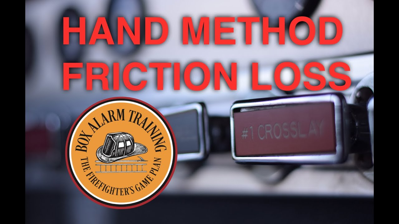 Hand Method for Calculating Friction Loss for Firefighters