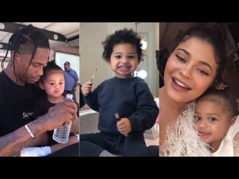 2 YEARS OF BABY STORMI   with Kylie Jenner & Travis Scott