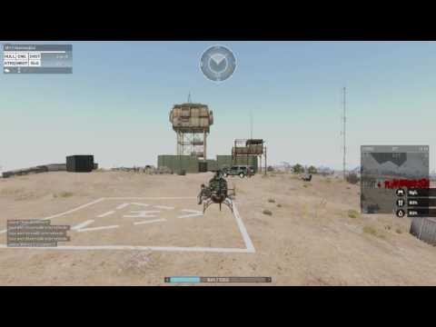 Patrouille Heliporter + Gunfight -- Militaire !
