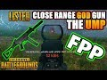 Close Range God Gun - THE UMP! | Listed | PlayerUnknown's Battlegrounds Gameplay | #PUBG