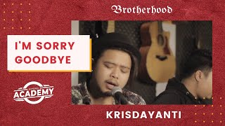 Download Lagu Krisdayanti - I'm Sorry Goodbye - Brotherhood Version mp3