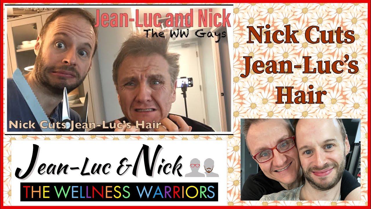 Nick Cuts Jean-Luc's Hair
