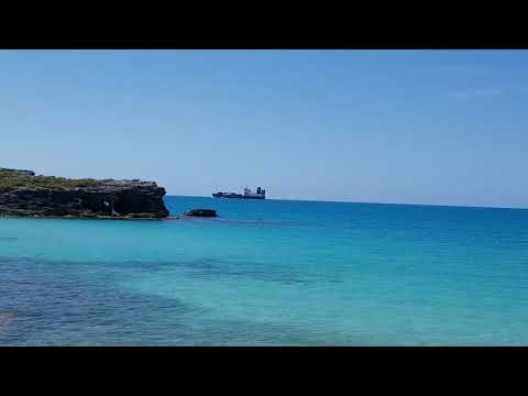 BCL Container Ship, Sailing To Bermuda Port/ Docks