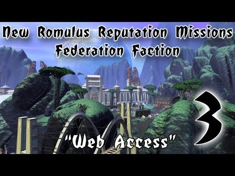 Star Trek Online - New Romulus Reputation - [3] - Web Access / Overgrown Caves