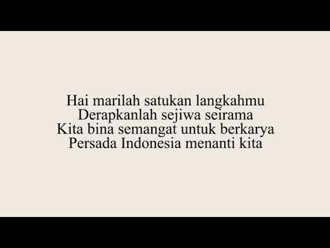 Mars Persatuan Drum Band Indonesia (PDBI)