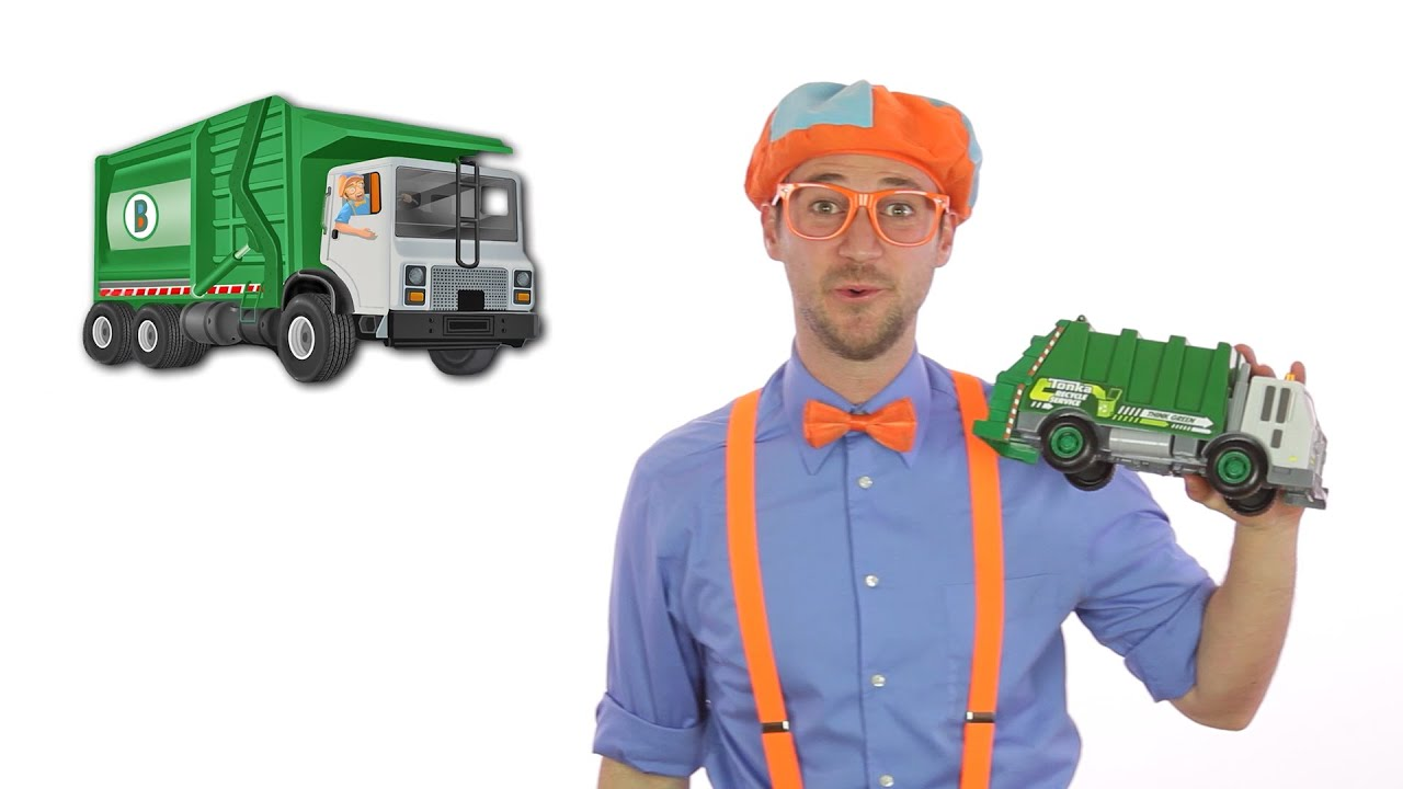 Garbage Truck Song Blippi | Educational Videos for Toddlers | Learning for Kids