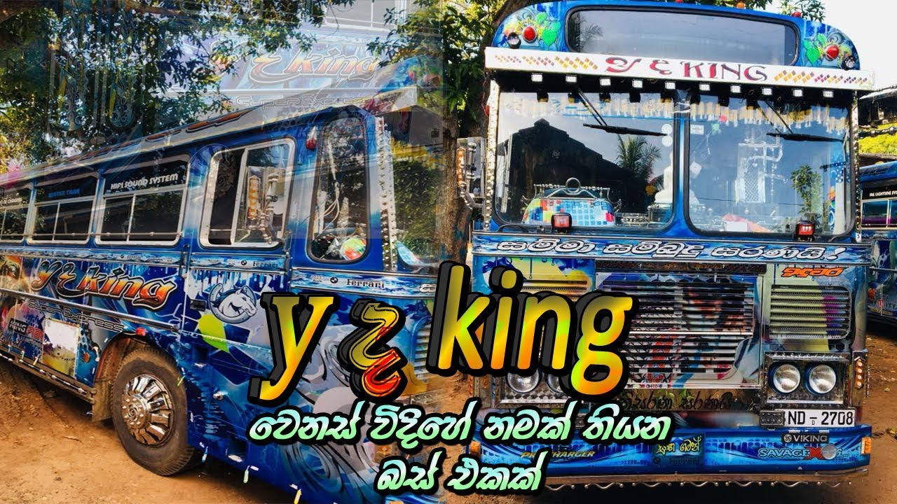 y the king bus | different name | different bus |
