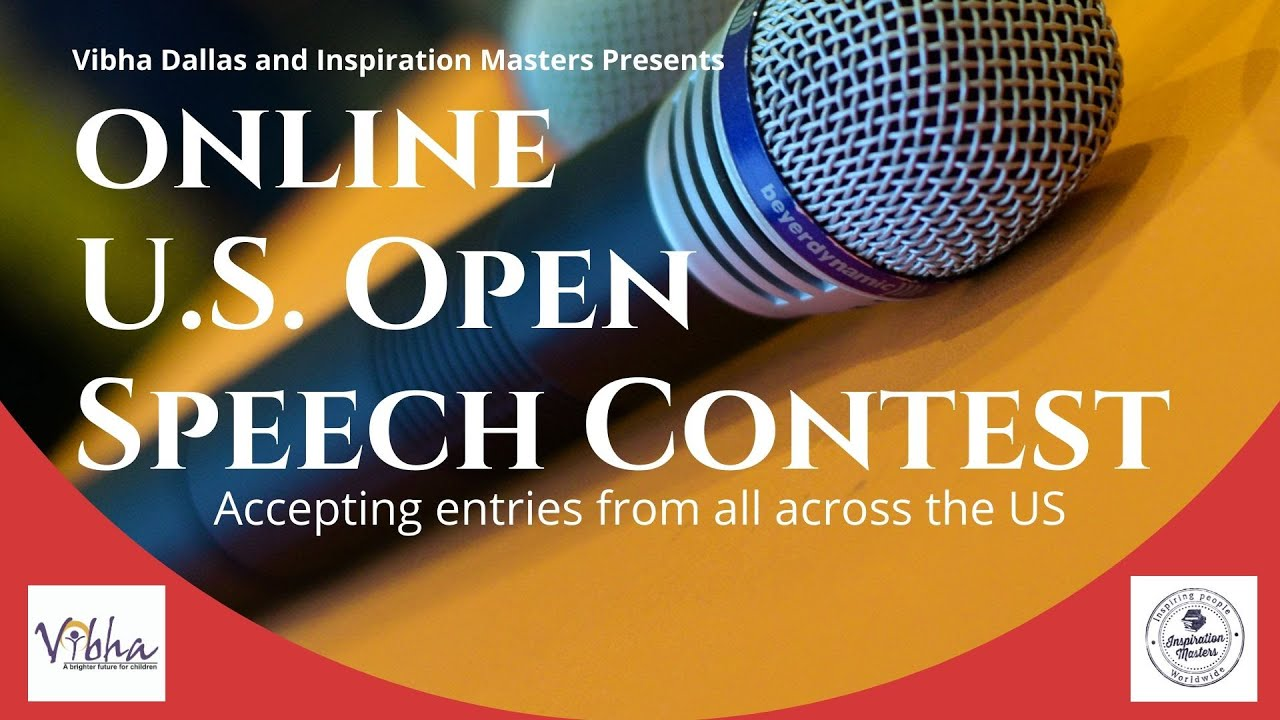 U.S. Open Speech Contest (Online Speech Contest)
