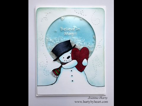 Christmas Shaker card