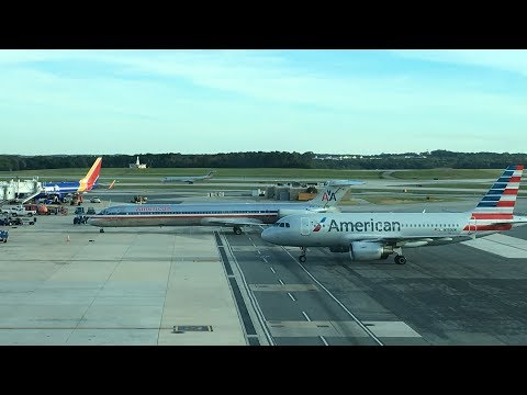 Plane Spotting @ Baltimore/Washington International Airport (BWI)