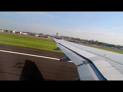 Avianca Salvador N522TA taking off from San Salvador Inbound Toronto