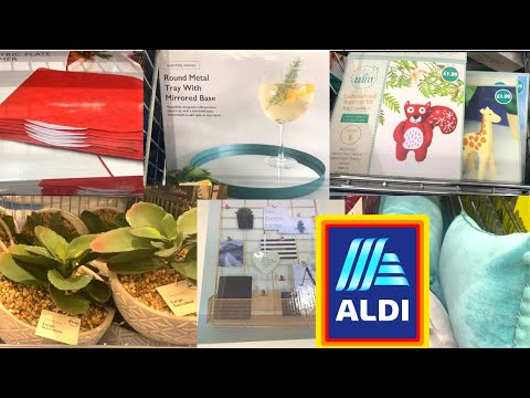 ALDI COME SHOP  WITH ME | WHAT'S IN THE MIDDLE ISLE OF ALDI THIS WEEK | Nuzlifestyle