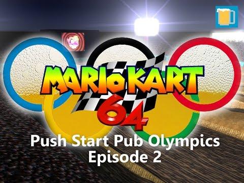 Push Start Pub Olympics Episode 2 - Mario Kart 64