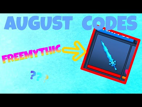 Assassin Codes Roblox 2018 August