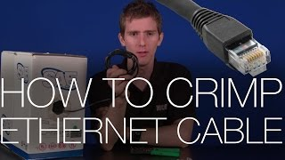 How To Make/Crimp RJ45 Ethernet Network Patch Cables (Cat 5e and Cat 6)