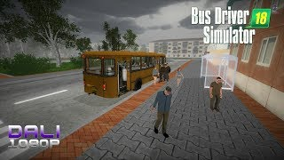 Bus Driver Simulator 18 PC Gameplay 1080p 60fps