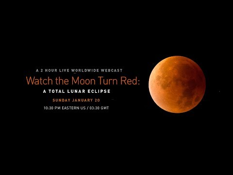 Watch the Moon Turn Red: A Total Lunar Eclipse