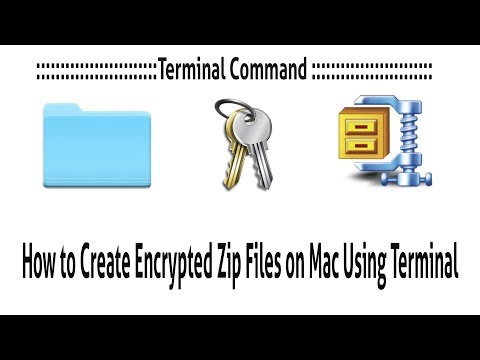 How to Create Encrypted Zip Files on Mac ✅ - YouTube