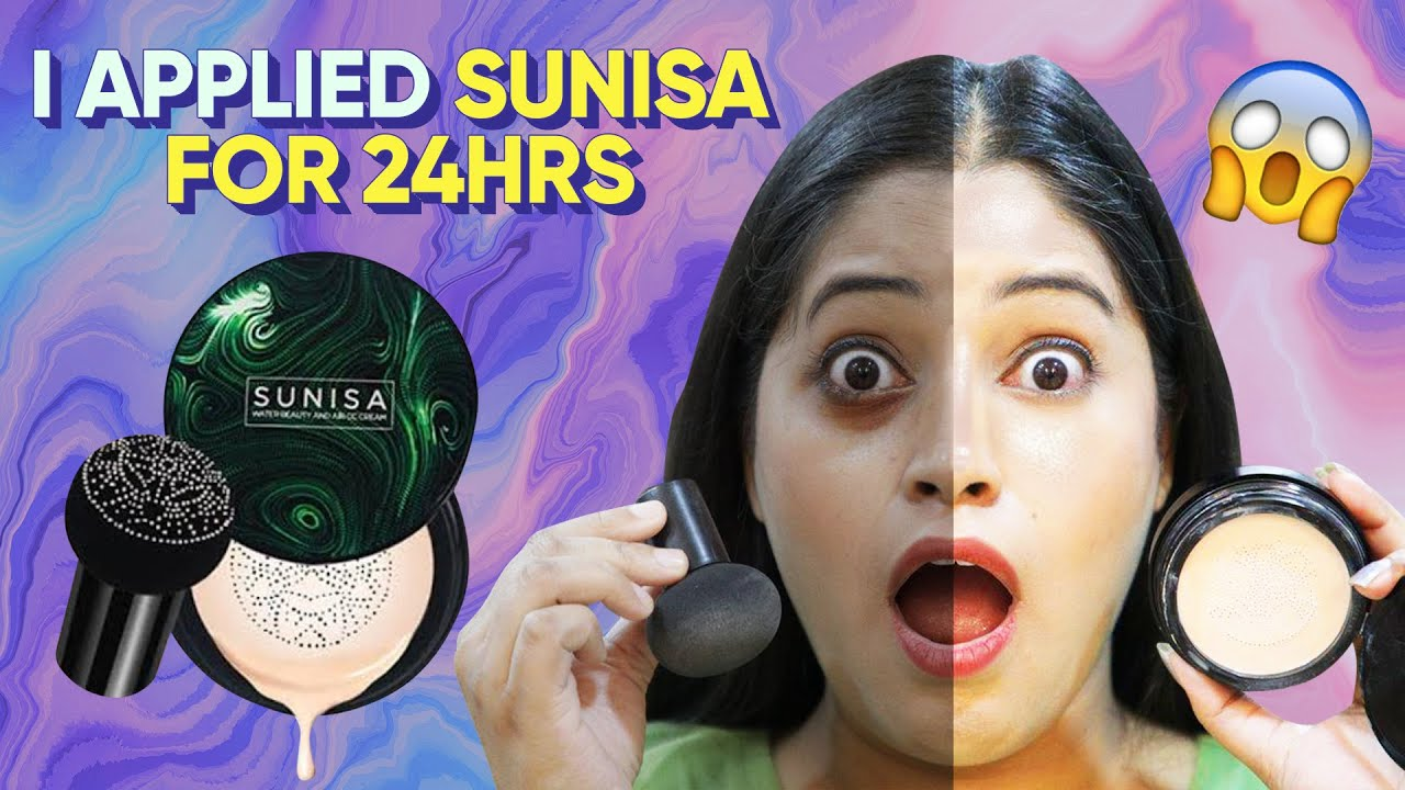 I Applied Sunisa Foundation for 24 Hours 😱This is working 🤔Live Shocking Result @BE NATURAL