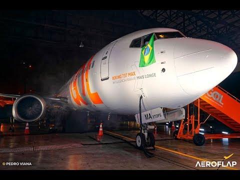 Apresentação Do Primeiro Boeing 737 MAX 8 Da GOL